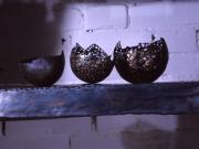 Schalen - Stahl, Silberlot