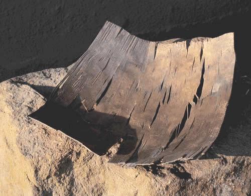 Schale aus versilbertem Stahl