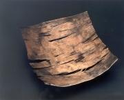 Schale aus Silber und Eisen geschweißt und geschmiedet