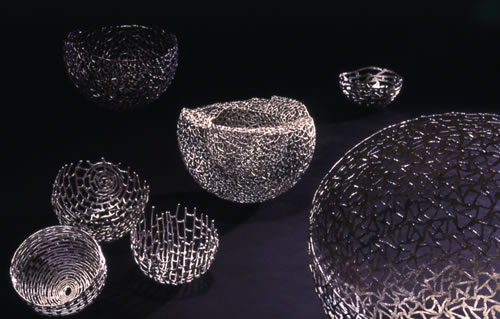 Schalen aus Silber 835/1000 geschweißt