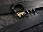 Ring - Eisen und Silber