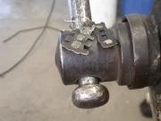 Ohrhänger - Eisen und Silber