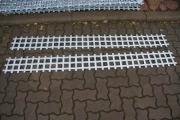 Schneefang Gitter aus feuerverzinktem Band Stahl