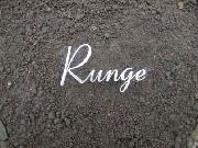 """Namensschild """"Runge"""" aus Edelstahl"""