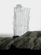 Skulptur auf dem Betriebsgeländer der SOCON SONAR CONTROL Kavernenvermessung GmbH