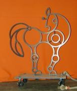 Kleine Skulptur - ′cavallo′ Hannover