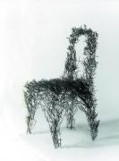 Skulpturen aus Rundstahl oder Runddraht