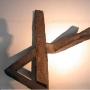 Skulptur aus geschweißtem Stahl