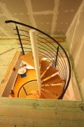 wunderschöne Spindeltreppe für das Kreismuseum in Syke