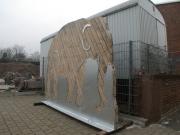 Sponsoren Elefant für den Zoo in Hannover
