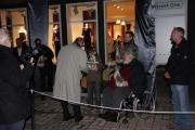 Verleihung der Laternen en miniature an die Sprecher anläßlich der Eröffnung der sprechenden Laternen in Celle