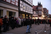Sensationell !!! Eröffnung !!! sprechende Laternen in Celle