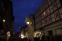 Sprechende Laternen in Celle - wir haben sie entworfen und gefertigt