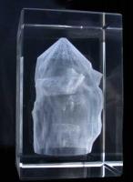 in Glas gelaserte Kaverne für die Stadtwerke Kiel
