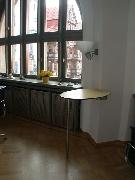 Stehtisch im Büro des Oberbürgermeisters in Hildesheim