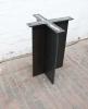 Tischgestell aus gelasertem Stahl