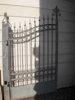 Geschmiedetes Tor und Tür aus Stahl