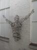Torso - Skulptur aus Rund Stahl geschweißt