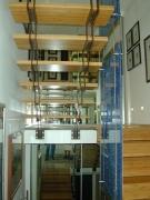 Treppe - mit Bambusstufen