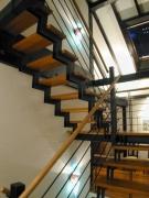 Treppe - Gelaserte Unterzüge