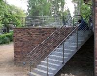 Treppengeländer und Balkon aus Edelstahl - Edelstahlgeländer, Preis per lfm
