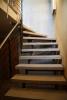 Treppengeländer aus Zunderstahl mit Edelstahlhandlauf