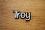 Schrifzug Troy