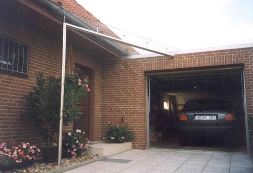Vordach Überdachung - Regenschutz