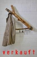 Wandhängende Ast Garderobe mit Schlüsselhaken