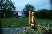 kleine Lichtskulpturen für den weißen Garten in Haldensleben