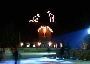 Leuchtende Tiere und Schriften für den Winter Zoo Hannover