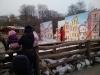 Drehbare 60 qm große Kulisse für die Aufführung von Pinochio im Winterzoo Hannover