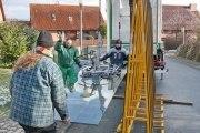 Terrassendach aus feuerverzinktem Stahl und Sicherheitsglas, Preis pro qm