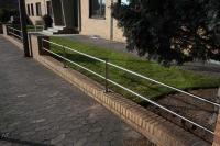 Zaun aus Edelstahl für Hastrabau/Wegener in Langenhagen