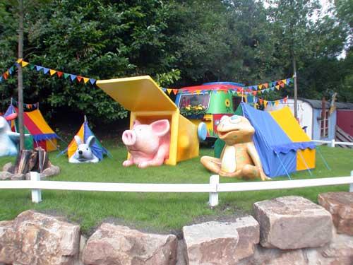 Zeltplatz im Mullewapp